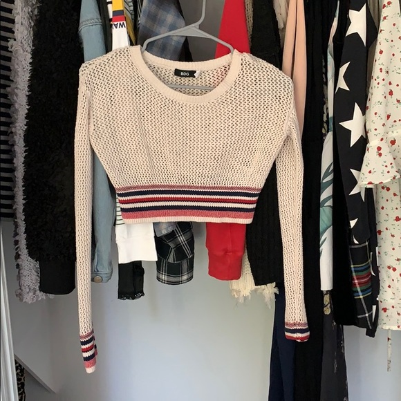BDG Tops - BDG cropped sweater